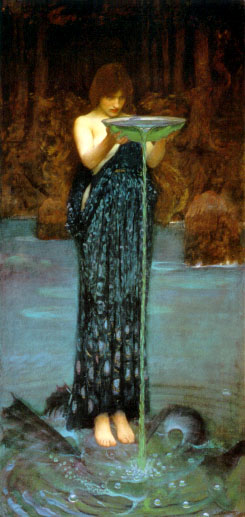 Waterhouse - Circe Invidiosa - 92