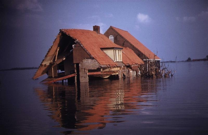 The flooding disaster of 1953