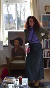 Ineke en haar portretje